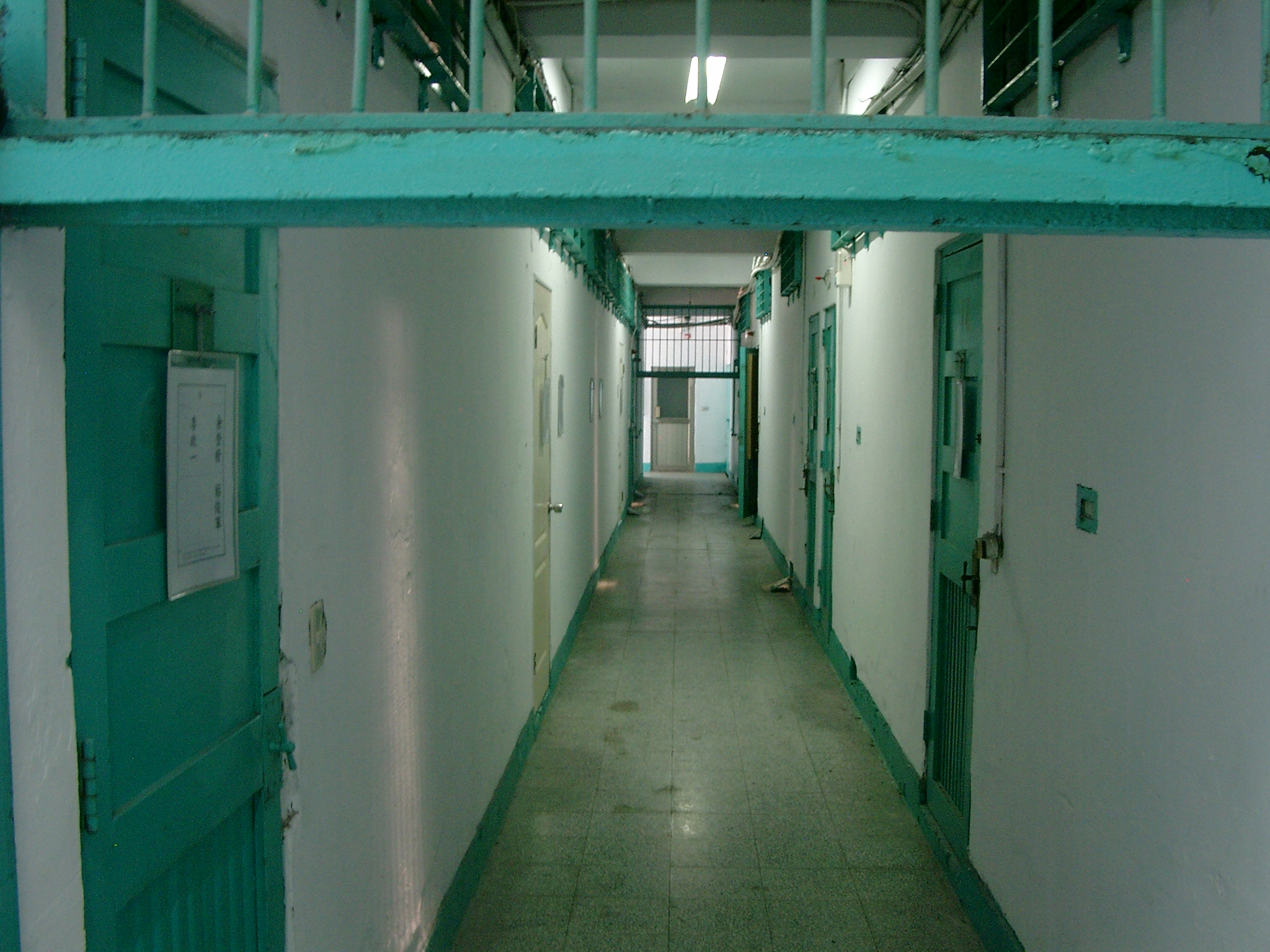 Jingmei Human Rights Memorial prison cell tract