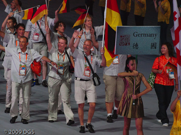 Deutsches Team bei den World Games 2009 in Kaohsiung