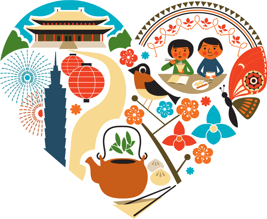 Taiwan The Heart of Asia - Das Herz Asiens