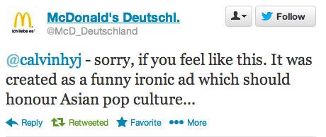 Tweet McDonalds: Ironic Ad
