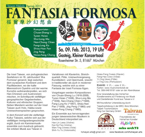 Fantasia Formosa München