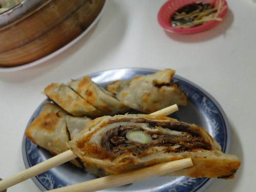 Rolled Beef Pancake 牛肉卷餅