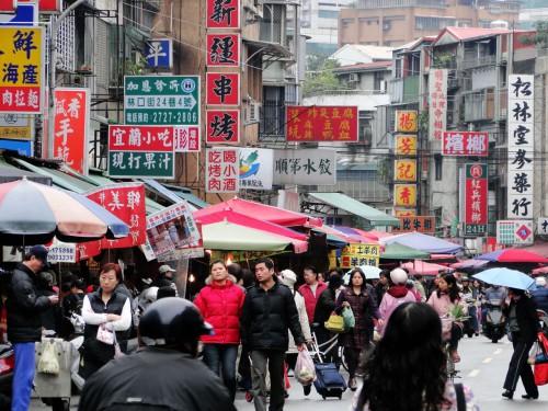Markt Taiwan Strasse