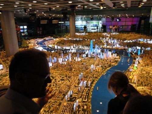 Shanghai Stadt Modell City Model