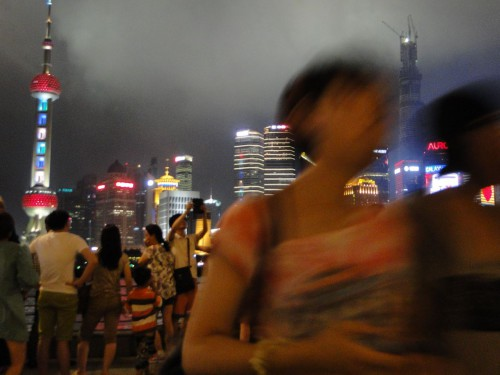 Shanghai Skyline Pudong Night