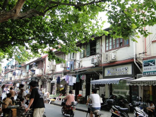 Shanghai Straßen Altstadt