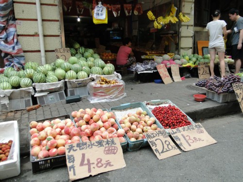 Shanghai China Obst Fruit