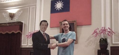 Cardboard President Ma