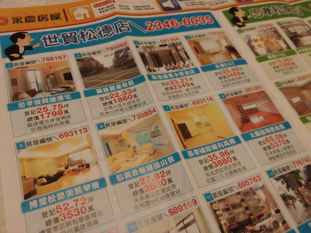 Immobilien Taipeh