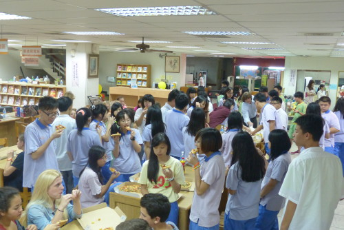 Starnberger Schüler in Taiwan