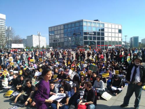 Taiwan Demonstration Berlin