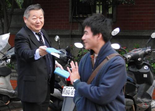 Christlicher Missionar in Taiwan