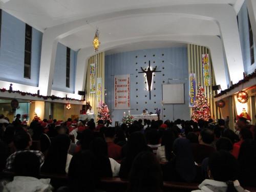 Katholischer Gottesdienst Taiwan