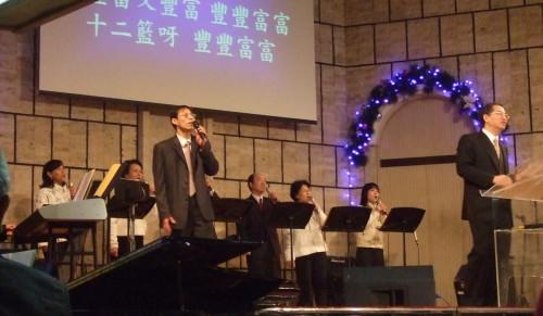 Gottesdienst in Taiwan