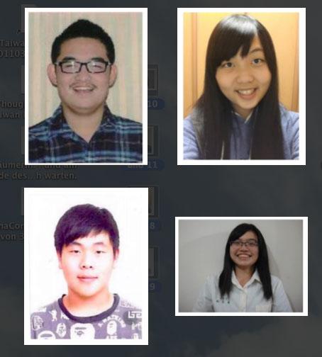 Austauschschüler Taiwan 2014