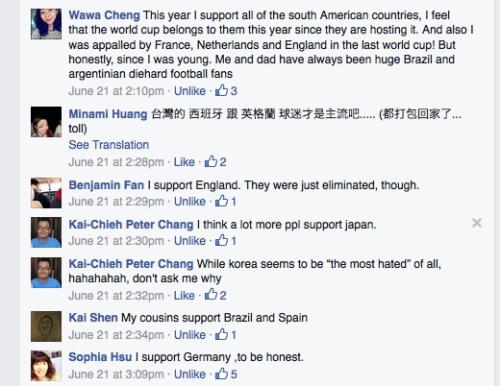 Taiwan Football Fans