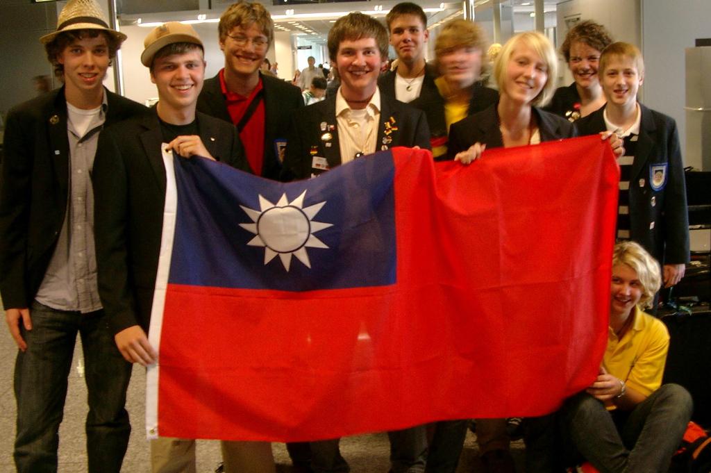 Exchange students Taiwan