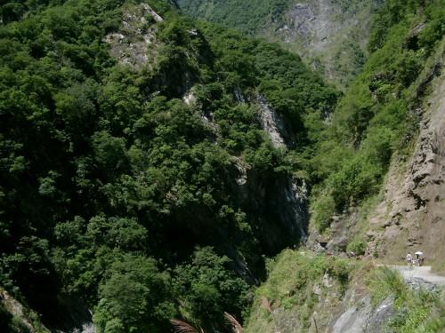 Mountain gorge in Taiwan
