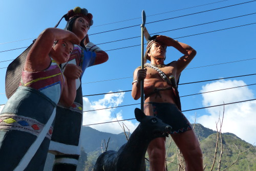 Tsou Statue