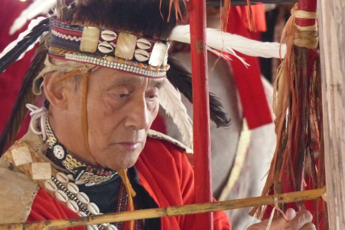 Tsou Tracht Ureinwohner Taiwan