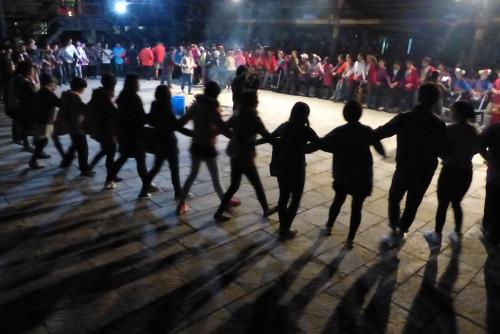 Taiwan Ureinwohner Tanz Nacht