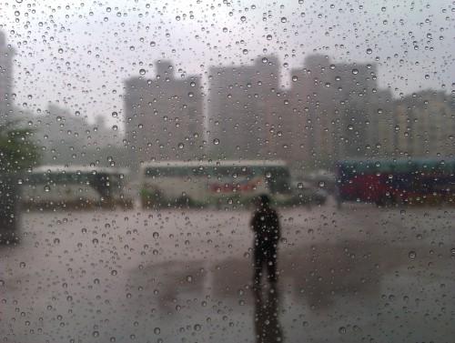 Regen in Taipeh