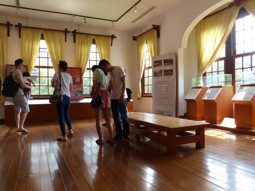 Taipei Beitou Heiße Quellen Museum Innen