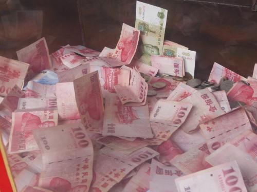 Taiwandollar mit Renminbi