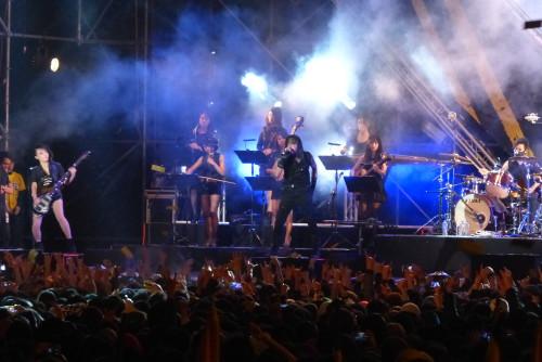 Chthonic-Konzert im Taipei, Taiwan