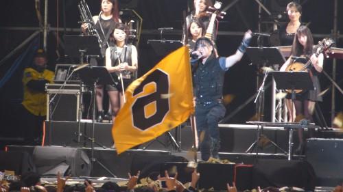 Freddy Lim bei einem Chthonic-Konzert in Taipeh