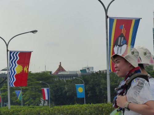 Flaggen von Taiwans diplomatischen Verbündeten