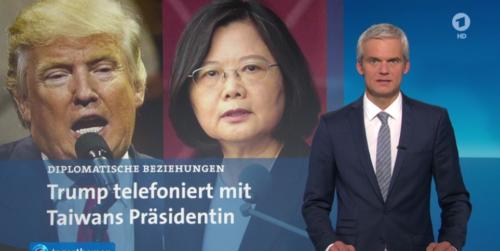 Tagesschau Trump Taiwan