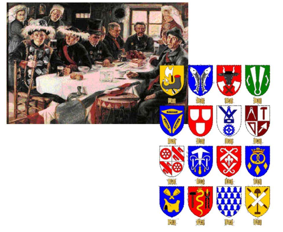 Handwerksgilden Mittelalter