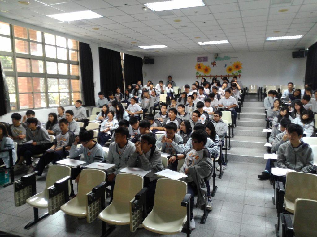 Schüler Taiwan Vortrag