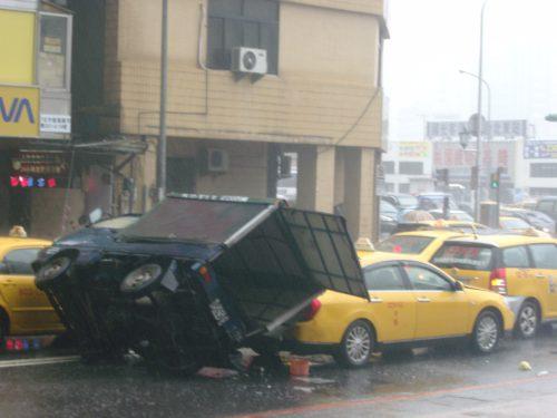 Verkehrsunfall in Taiwan