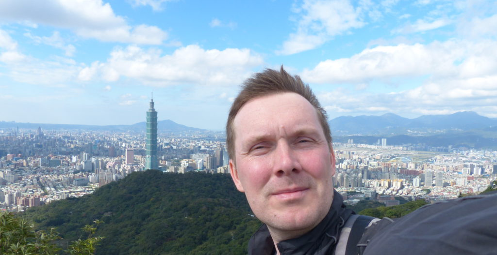 Aussicht vom Berg Muzhi Shan