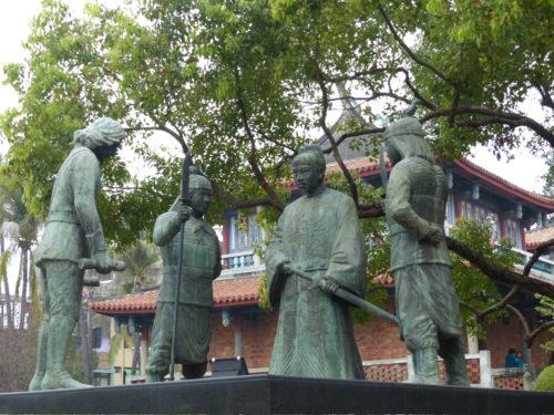 Koxinga Holländer Statue Tainan