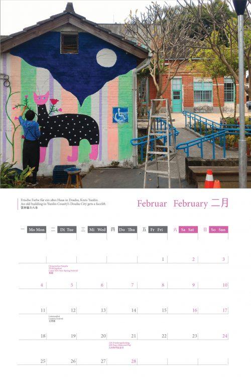 Kalender 2019 Februar