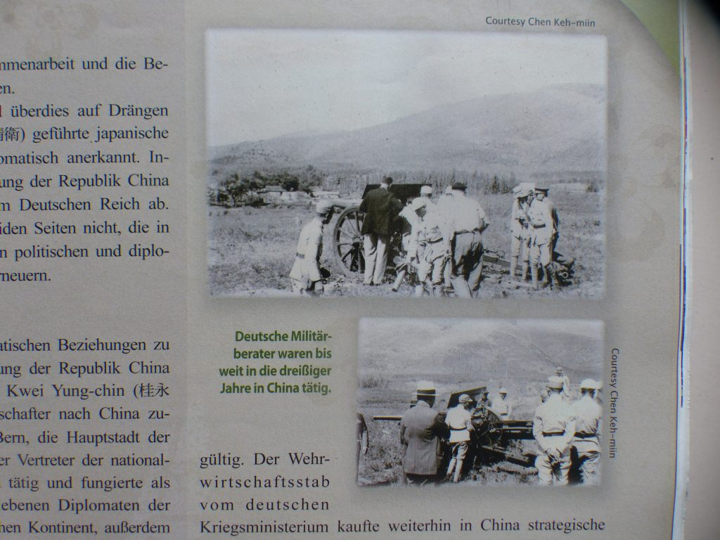 Deutsche Militärberater in China