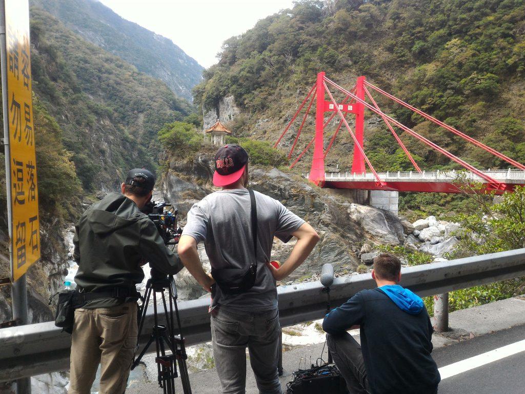 ARD Weltspiegel Team Taroko