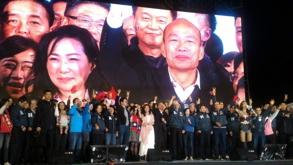 KMT Kundgebung mit Han Kuo-yu