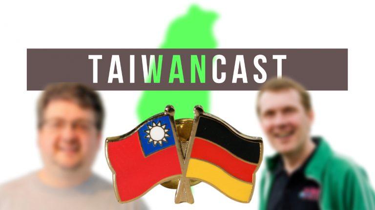 Taiwancast Deutschland und Taiwan Flaggen