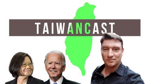 Taiwancast Tsai Biden Logo