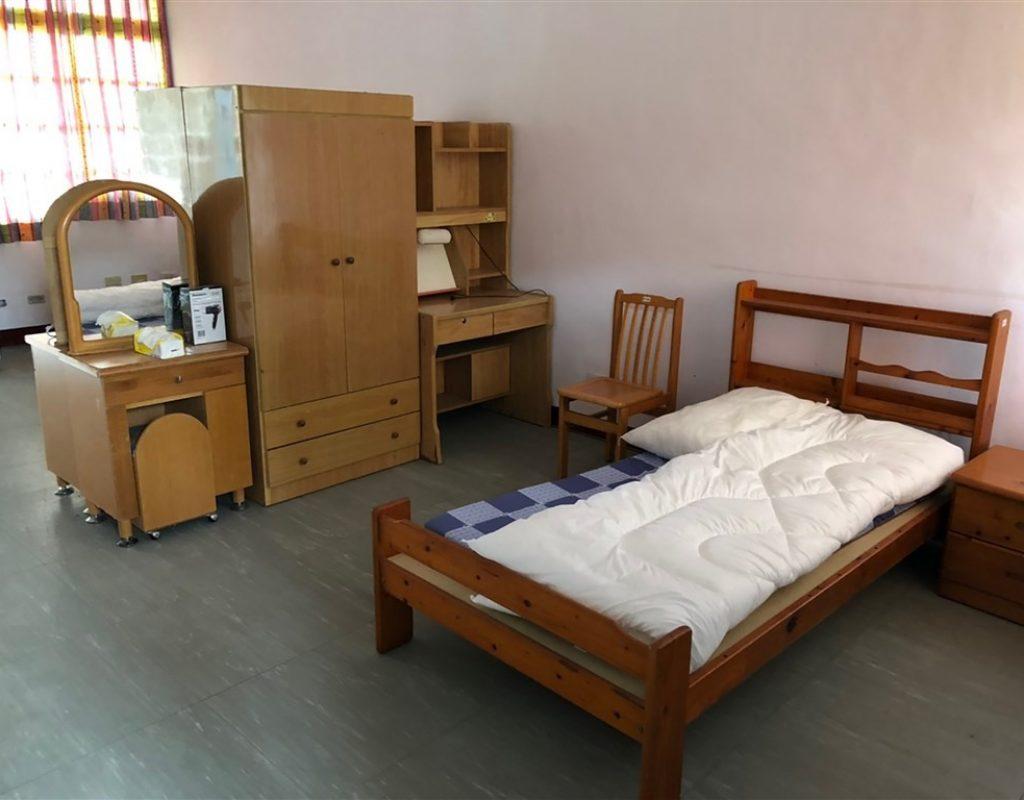 Corona Quarantäne Zimmer in Taiwan