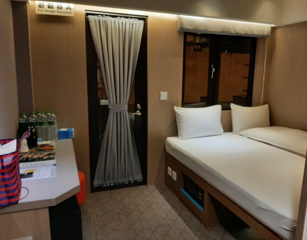 Corona Quarantäne Hotelzimmer in Taipeh