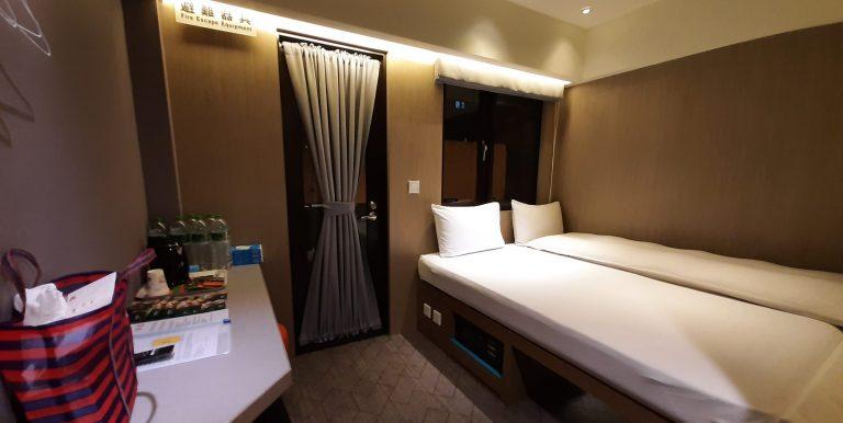 Hotelzimmer zur Corona Quarantäne in Taiwan
