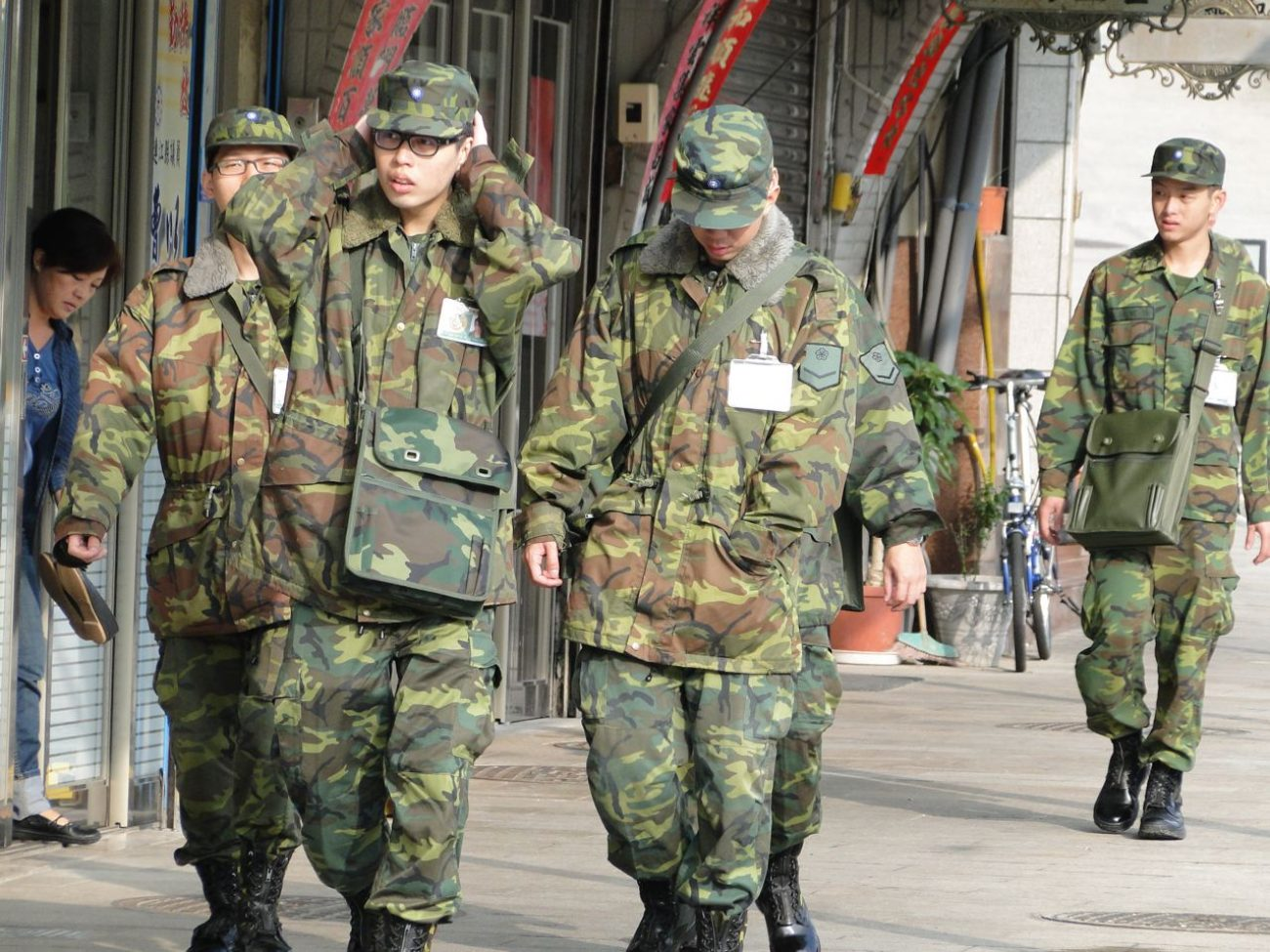 Taiwan Wehrdienst Rekruten