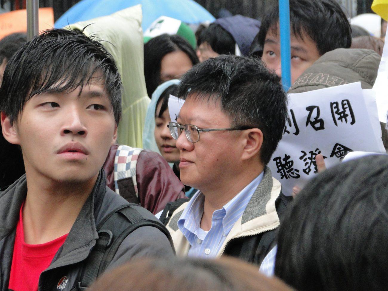 Chen Wei-ting Studentenführer Taiwan