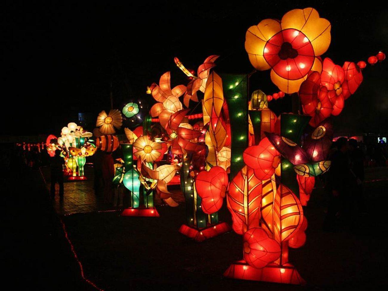 Laternen fürs Chinesische Neujahr
