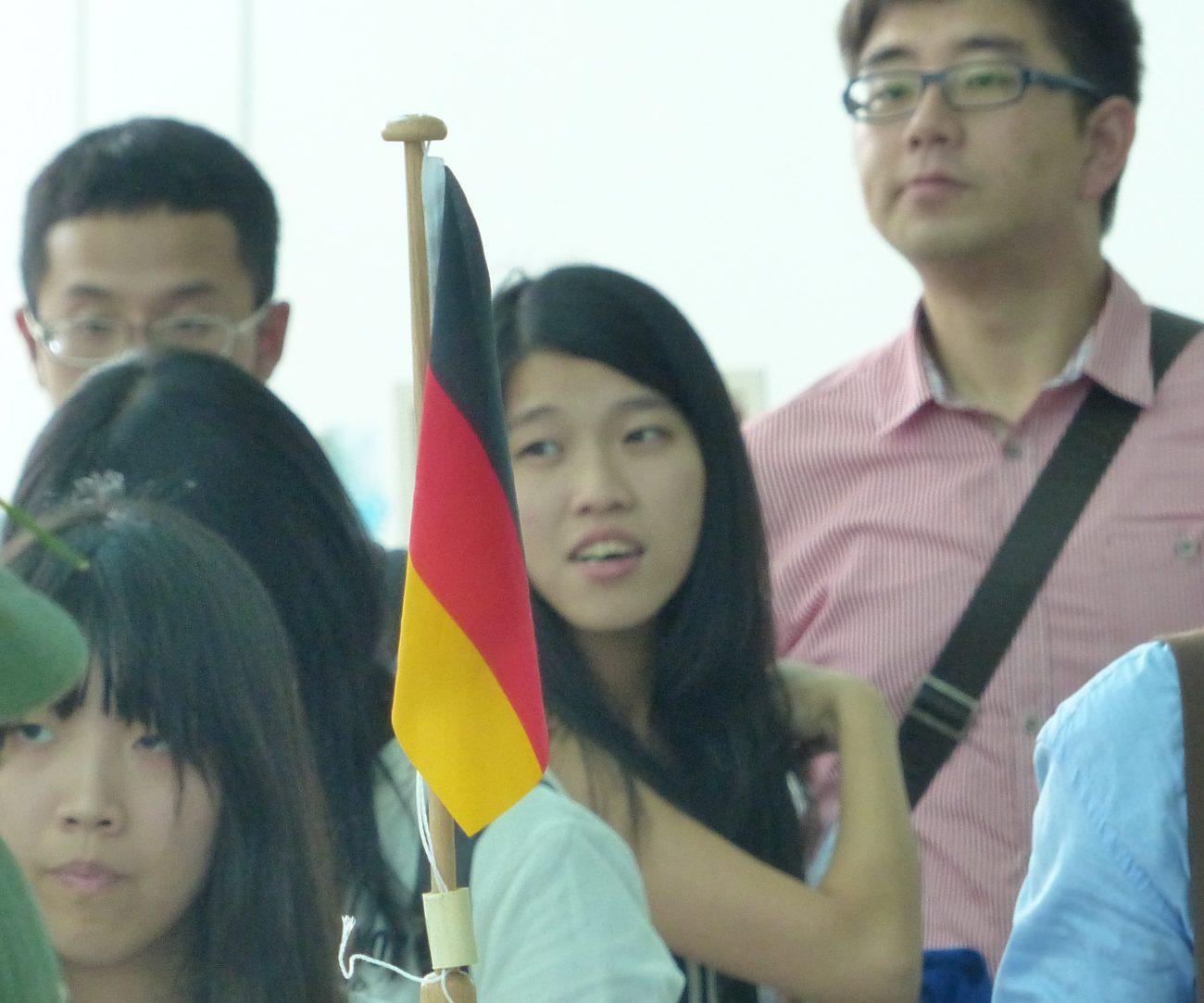 Studenten aus Taiwan